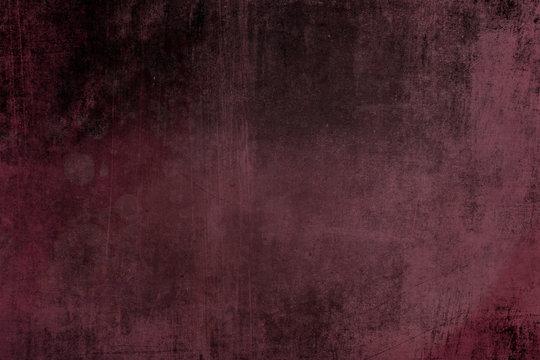 Dark red grungy wall background