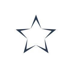 Star Icon Premium Icon Flat Line Vector Illustration