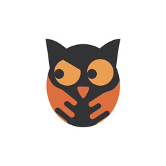 owl bird trick or treat happy halloween