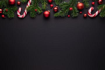 Black Christmas border