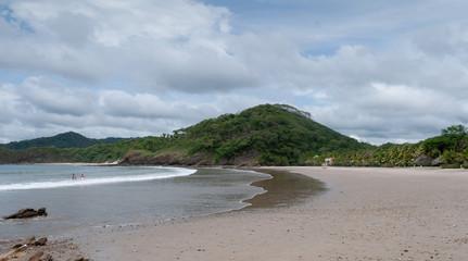 Hermosa bahía del pacífico sur de Nicaragua