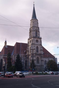 Roman Catholic Church Saint Michael (Biserica Sfantul Mihail) - Cluj Napoca, Kolozsvár, Klausenburg, Transylvania, Romania