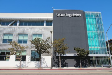 SANTA MONICA, UNITED STATES - APRIL 6, 2014: Bloomingdale's store in Santa Monica, California. Bloomingdale's is a chain of 43 upscale department stores dating back to 1861.