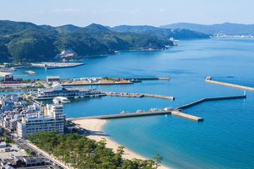 Landscape of Sumoto port ,Awaji island ,Hyogo, Japan