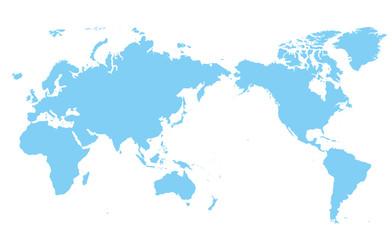 世界地図 高画質ベクター