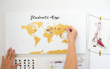 Student's map