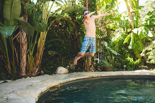 The teenage Dab move into pool