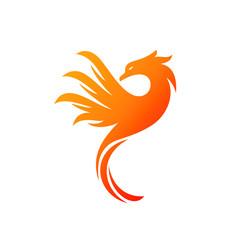 Charming Illustration Phoenix Logo Concept