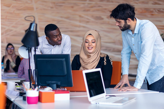 Designer Teamwork Brainstorming Planning Meeting Diversity Concept