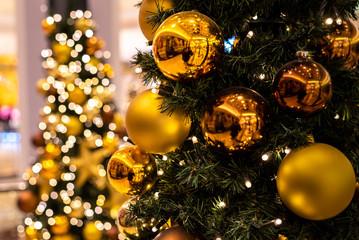 Weihnachten Weihnachtsbaum geschmückt