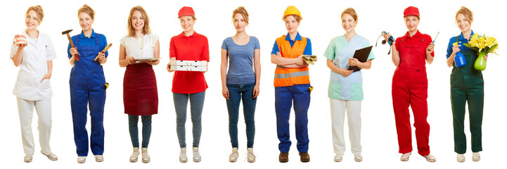 Woman decides for side job or mini job
