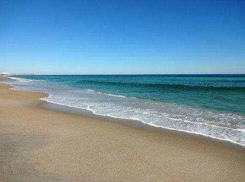 Low Tide Calm at Wrightsville Beach, North Carolina