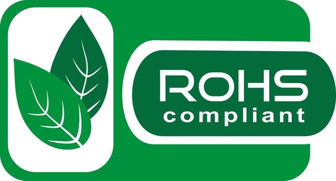 rohs compliant icon box CE