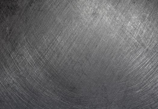 Steel texture, brushed metal plate