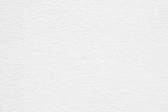Horizontal image of clean white paper texture, Cement or concrete wall texture background, High resolution, Empty space for text.