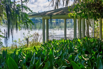 Lake with Gazebo in Northern Florida