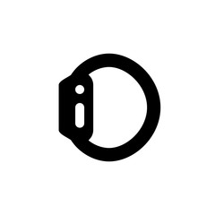 Smart watch icon. Timer symbol