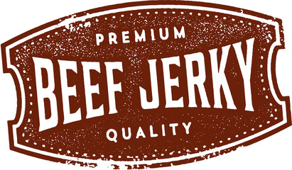 Vintage Style Beef Jerky Sign