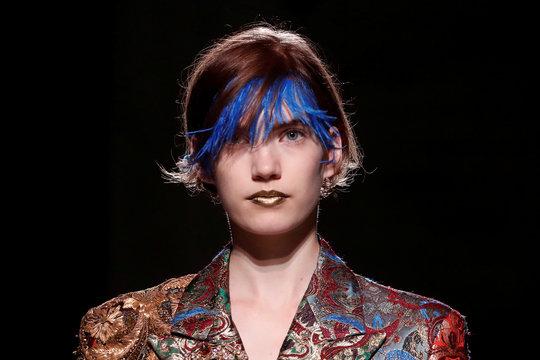 Dries Van Noten Spring/Summer 2020 women's ready-to-wear collection show at Paris Fashion Week