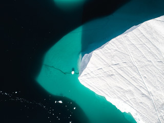 ice berg from above