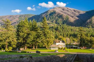 Stevenson public park and museum Oregon.
