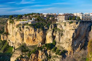Ronda - View from Mirador de Maria Auxiliadoira, Spain