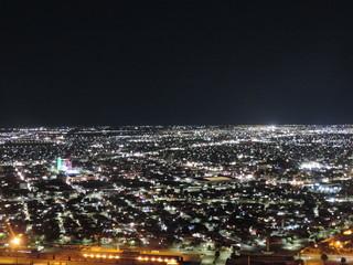 Fotobehang Los Angeles CIUDAD DE NOCHE