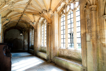 Beautiful Architecture Christ Church Cathedral Oxford, UK Wall mural