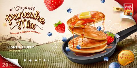 Pancake mix ads