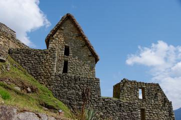 Stone House in Machu Pichu