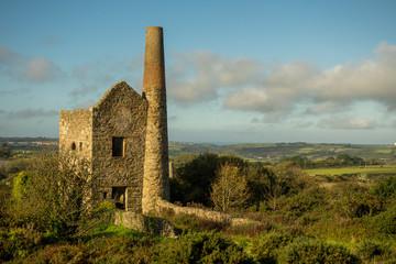 Tine Mine Relics and Ruin, Cornwall