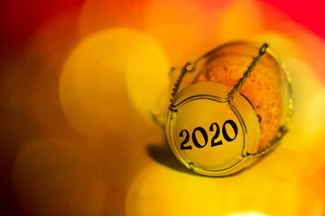 Sekt korken 2020 Neujahr