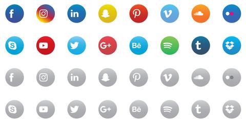 Social Media Icon Set 3