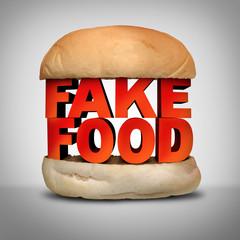 Fake Food Concept