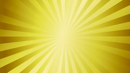 golden metallic style polished gradient color sun burst background