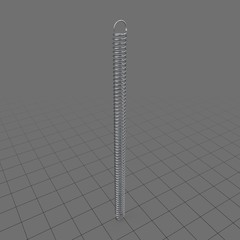 Extended extension spring
