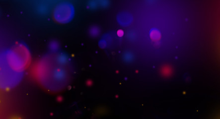 Lens flare particles abstract background Wall mural