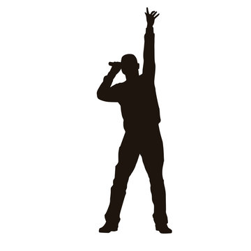 Singer Silhouette