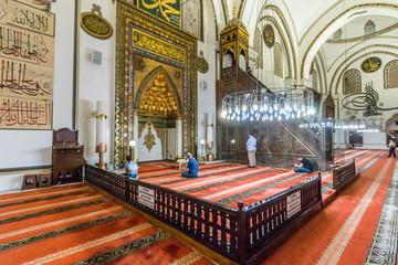 View of Bursa Great Mosque