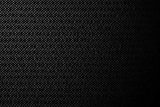 Black speaker grid, Illustration
