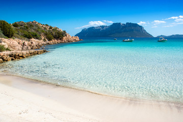 Doctor's beach on the north-eastern coast of Sardinia - Olbia-Tempio