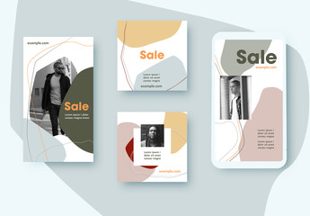 Sale Social Media Post Layouts