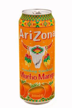 Arizona Cowboy Cocktail Mucho Mango soft drink