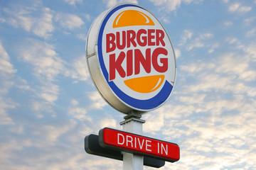 Burger King Logo Drive In