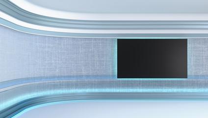 Obraz Virtual tv studio - fototapety do salonu
