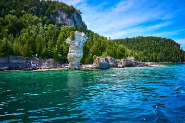 Tobermory flowerpot island Ontario Canada