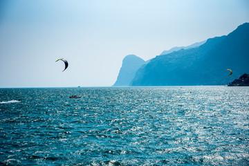 Lake Garda in Northern Italy