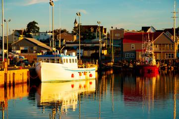 Louisbourg Harbor - Nova Scotia - Canada