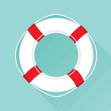 Life buoy icon.