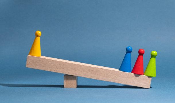 Corporate imbalance; competitive advantage